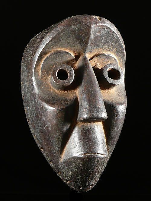 Masque ancien - Dan / Guere - Côte d'Ivoire