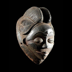 Masque noir de justice -...