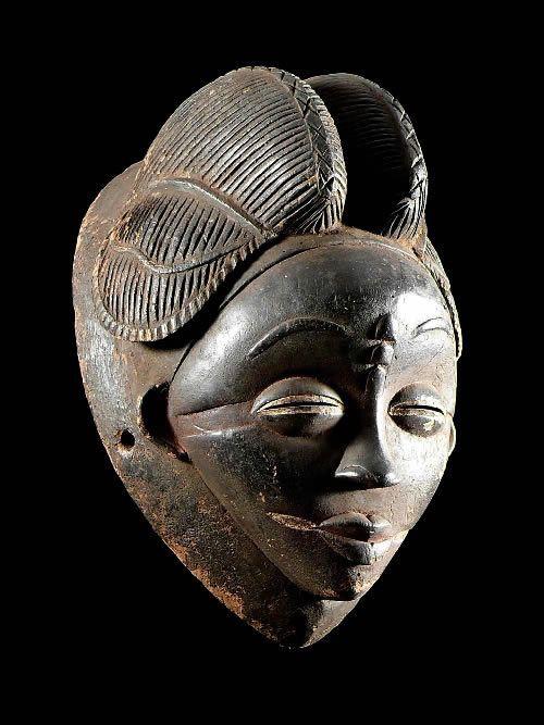 Masque noir de justice - Pounou / Tsangui - Gabon