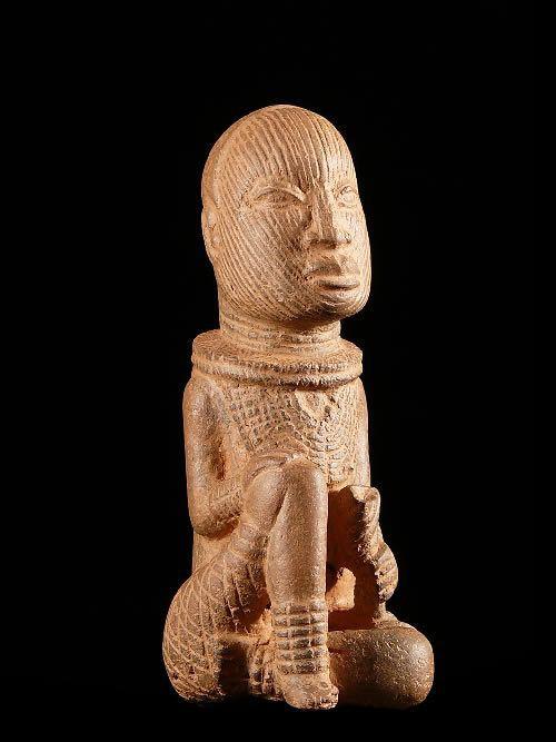 Figurine Ife en terre cuite - - Ife - Niger