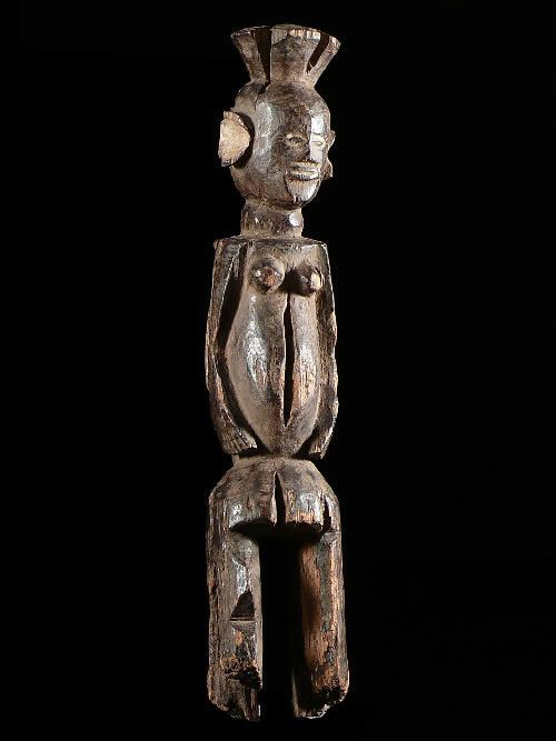 Statue rituelle ancienne - Chamba - Nigeria - Statues africaines