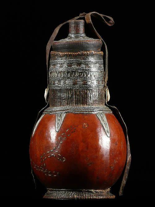 Gourde a lait - Ethnie Borana - Ethiopie
