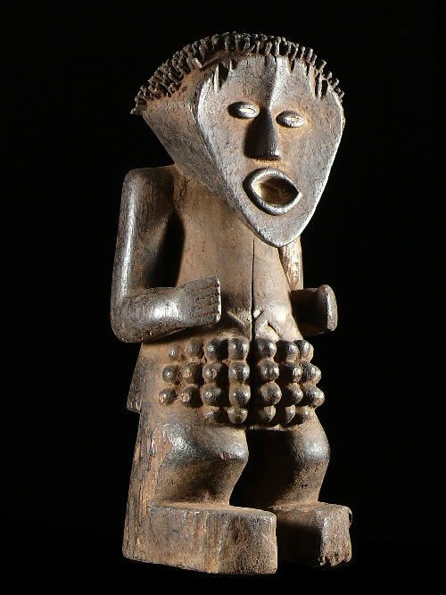 Statue Tadep - Mambila - Nigeria - Statues africaines