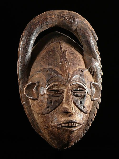 Masque Zoomorphe - Idoma - Nigeria - Masques africains