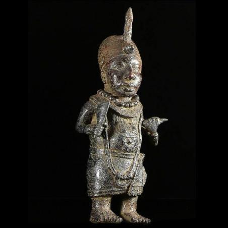Statuette de roi - Bini Edo...