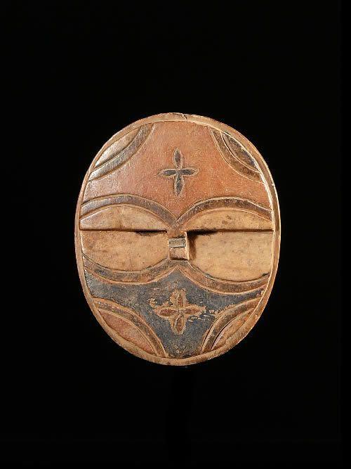 Masque passeport - Teke / Tsayi - RDC Zaire