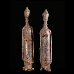Couple de statuettes en...