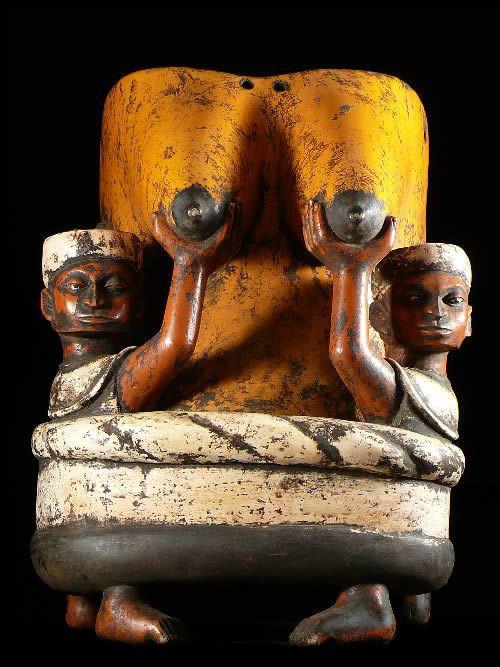 Masque ventre Gelede - Yoruba / Nago - Nigeria / Benin