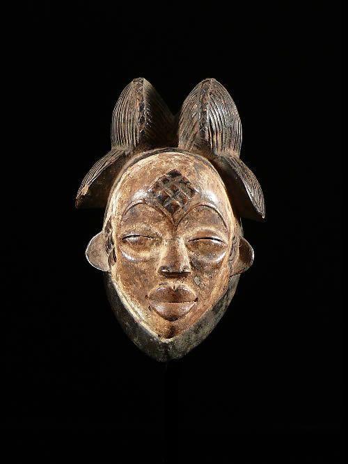 Masque passeport - Punu / Punou - Gabon