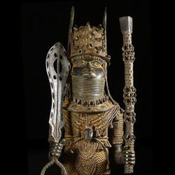 Statue de roi - Bini Edo -...