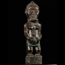 Statue votive de chef -...