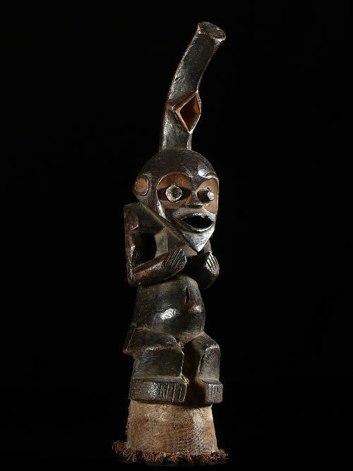 Trompe ou Olifant en bois - Mambila - Nigeria - Aerophones