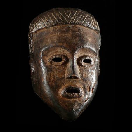 Masque anthropomorphe -...