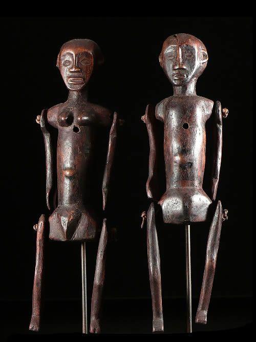 Couple de Marionnettes - Nyamwezi - Tanzanie
