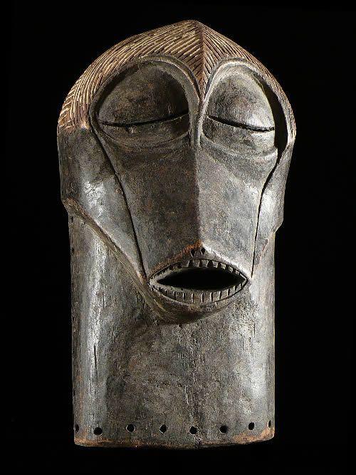 Masque Kifwebe Zoomorphe - Songye - RDC Zaire