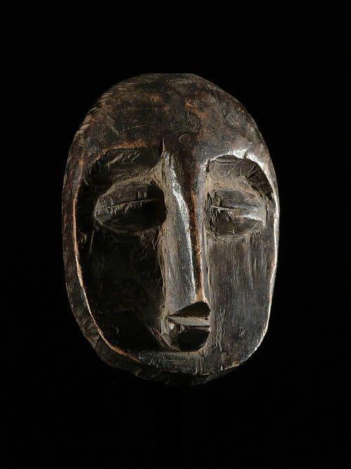 Masque de famille - Lega - RDC Zaire