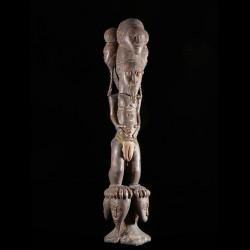 Statue autel ancetre royal...