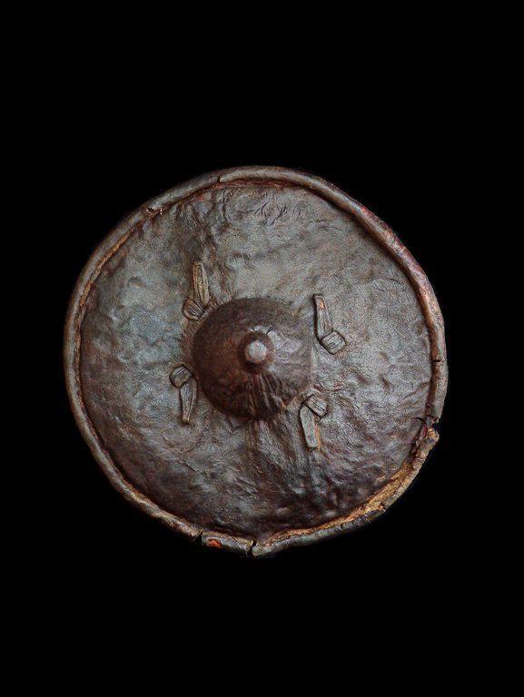 Bouclier en cuir - Kirdi - Cameroun - Boucliers africains