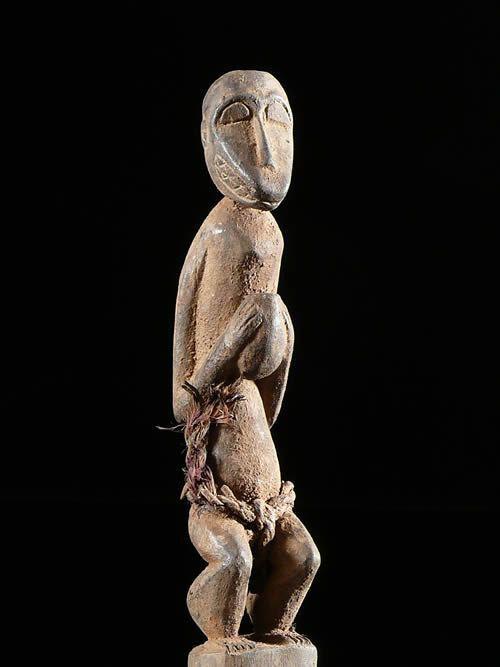 Singe M Botumbo Ghekre - Baoule - Cote d'Ivoire - Statuaire afri
