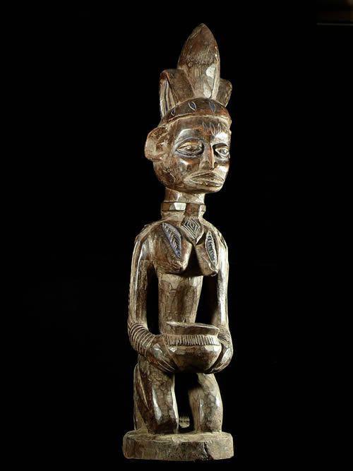 Porteuse de coupe - Yoruba - Benin