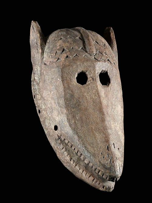 Masque de hyenne - Dogon - Mali - Masques Africains