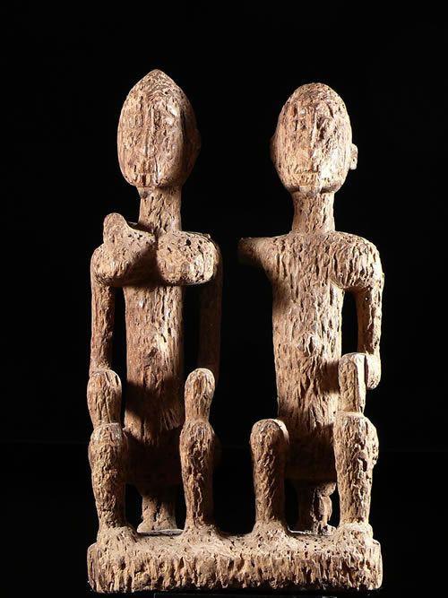 Couple primordial - Dogon - Mali - Statuaire Africaine