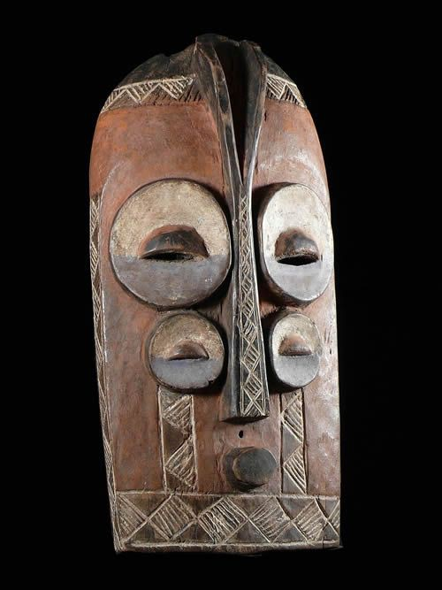 Masque CweCwe - Bembe - RDC Zaire - Masques africains