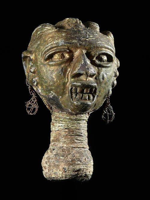 Flute chouette Imborivungu Fragment - Tiv - Nigeria