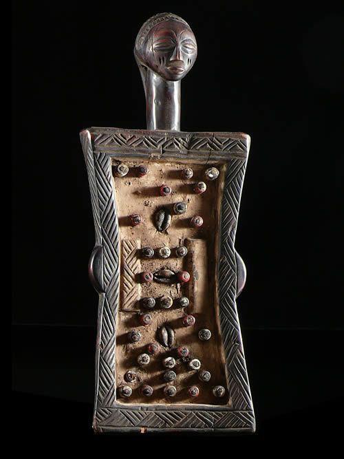 Tablette de divination - Luba - RDC Zaire