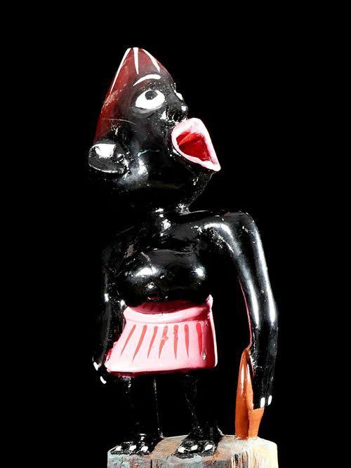 Mini Sculpture Shetani - George Lilanga - Makonde