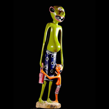 Sculpture Shetani Mere et...