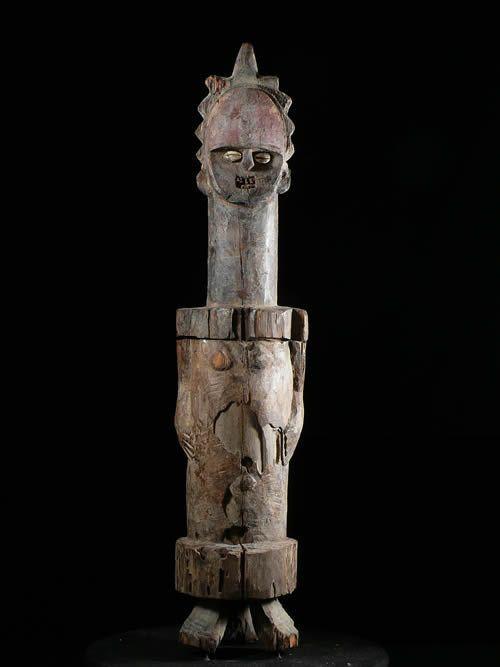 Statue boite reliquaire - Mbete / Ambete - Gabon - Reliquaire