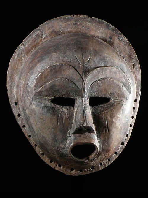 Masque zoomorphe Sachihongo - Mbunda / Ovimbundu - Angola