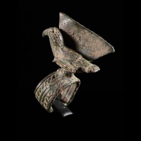 Bague amulette toucan -...