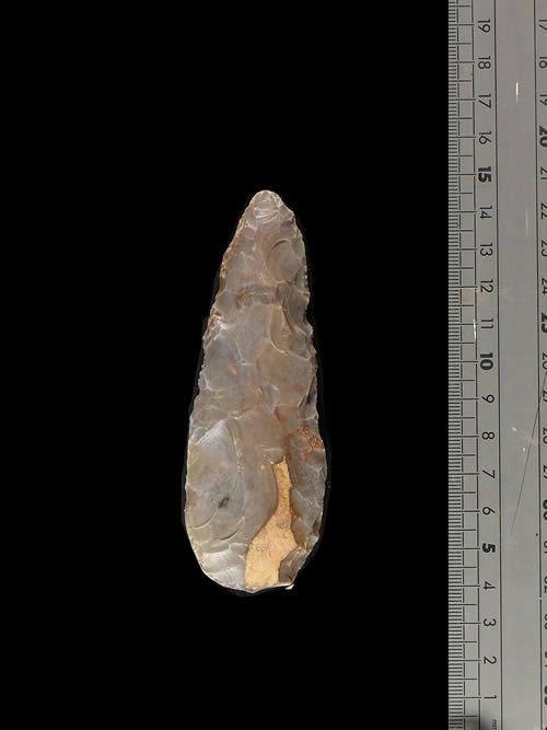 Armature de lance en silex - Mali - Gao - Paleolithique superieu