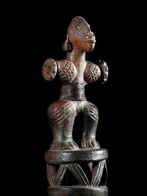 Petite poterie fetiche - Mambila - Cameroun / Nigeria