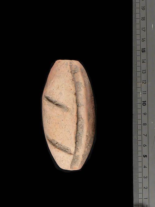 Polissoir en terre cuite - Niger - Agadez - Neolithique Recent