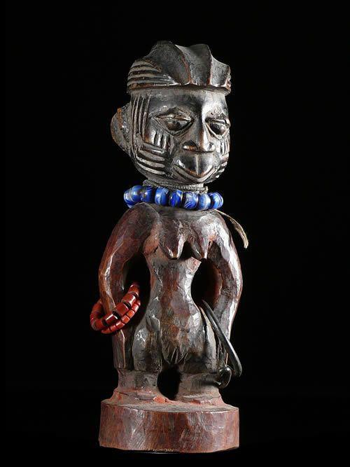 Jumeau Ibedji ou Ibeji - Yoruba - Nigeria - Statues Africaines