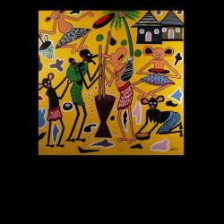 Peinture 60 x 60 - George...