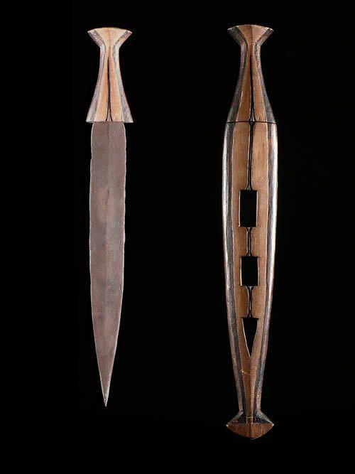 Couteau Poignard - Ovambo / Ambo - Angola / Namibie