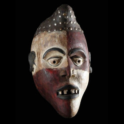 Masque de guerison - Kongo...
