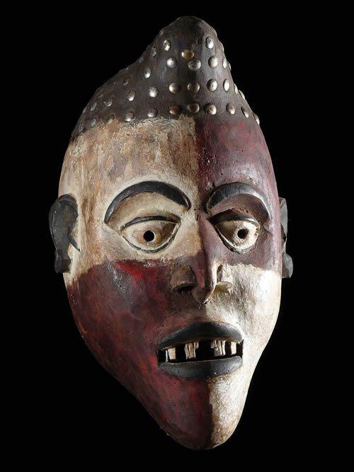 Masque de guerison - Kongo Yombe - RDC Zaire