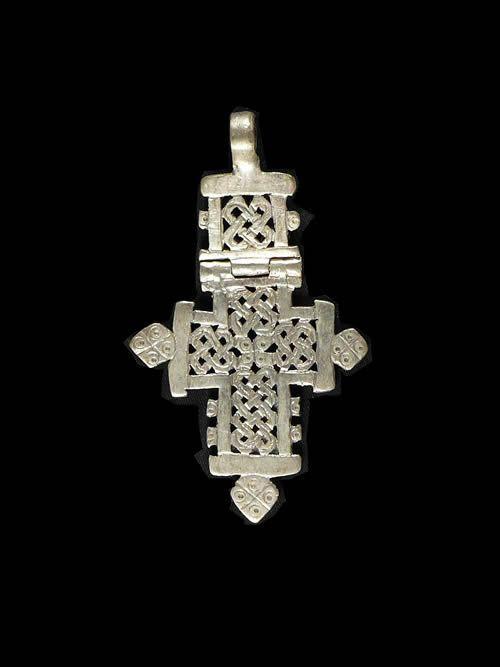 Croix Copte pendentif - Amahara - Ethiopie