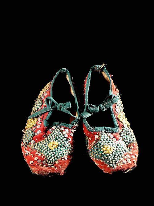 Egun - Chaussons de danse - Yoruba - Benin / Nigeria - Egungun