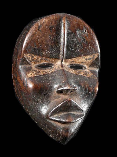 Masque de rejouissances - Dan / Yacouba - Côte d'Ivoire