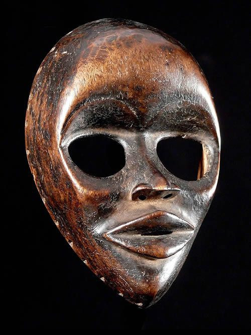 Masque ancien - Dan / Yacouba - Liberia - Masques africains