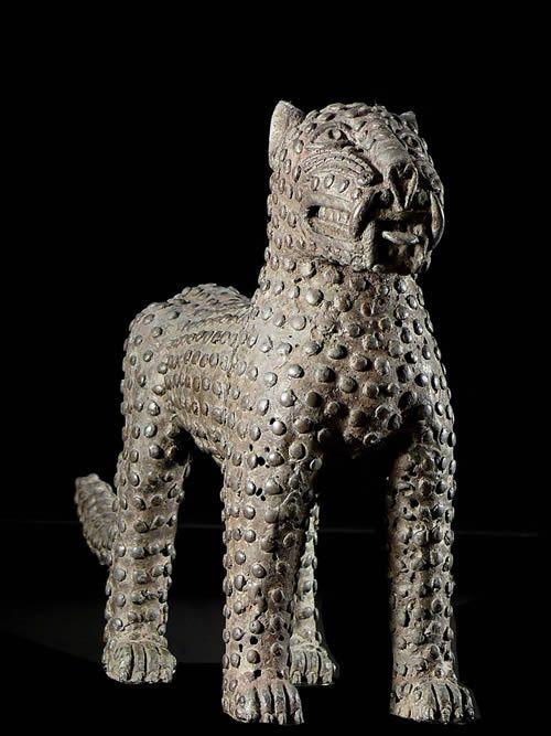 Leopard Royal - Bini Edo - Benin - Bronzes du Benin