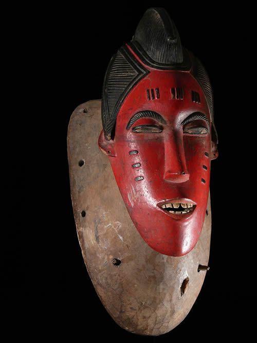 Masque Kpan du Goli - Baoule - Côte d'Ivoire