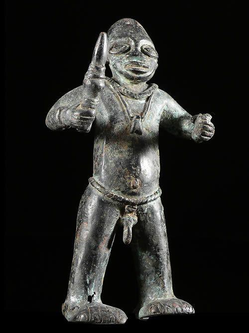 Bronze du Delta du Niger - Ibo - Nigeria - Bronzes anciens