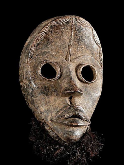 Masque ancien - Dan / Yacouba - Côte d'Ivoire